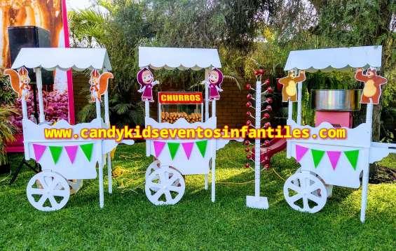 Carritos snacks fiestas y eventos