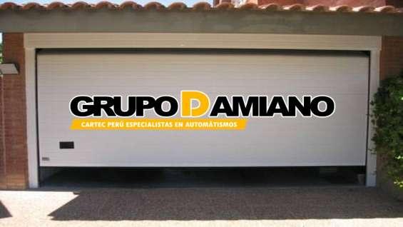 Fotos de Puertas seccional grupo damiano perú e.i.r.l 3