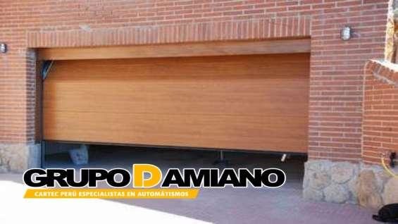 Fotos de Puertas seccional grupo damiano perú e.i.r.l 2