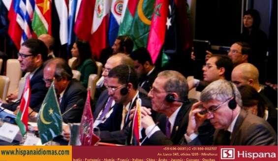 Telf: 937-100997 intérpretes simultáneos certificados en lima perú