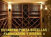Estante Porta botellas de vino fabricacion Diseño en lima Perú sudamerica