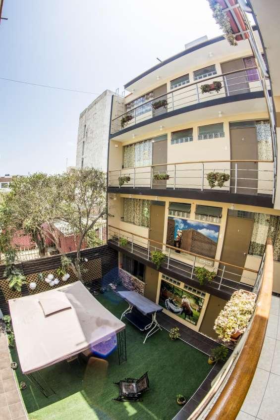 Minidepartamentos y habitaciones en santa edelmira para empresas