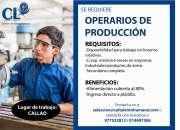 OPERARIO DE PRODUCCIÓN
