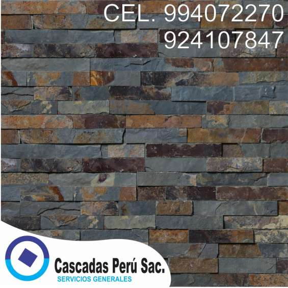Fotos de Fachaletas peru, piedra laja, pared decorativo de fibra de vidrio 9