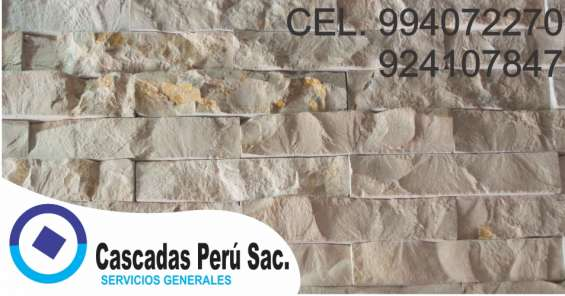 Fotos de Fachaletas peru, piedra laja, pared decorativo de fibra de vidrio 7