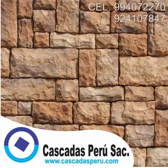 Fotos de Fachaletas peru, piedra laja, pared decorativo de fibra de vidrio 4