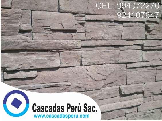 Fotos de Fachaletas peru, piedra laja, pared decorativo de fibra de vidrio 8