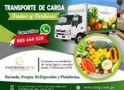 Camp – frutas y verduras – en ate - vitarte