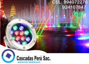 Luces led para piscinas, luces led para piletas, luces led empotrable