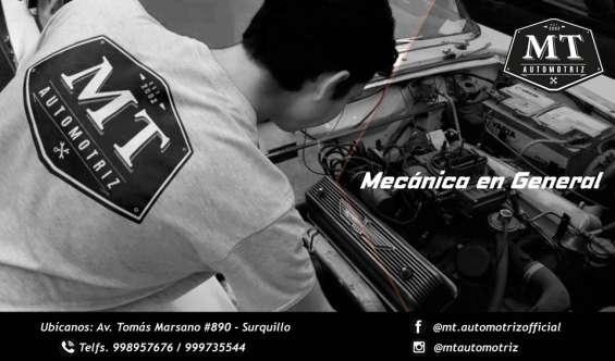 Mecanica general automotriz