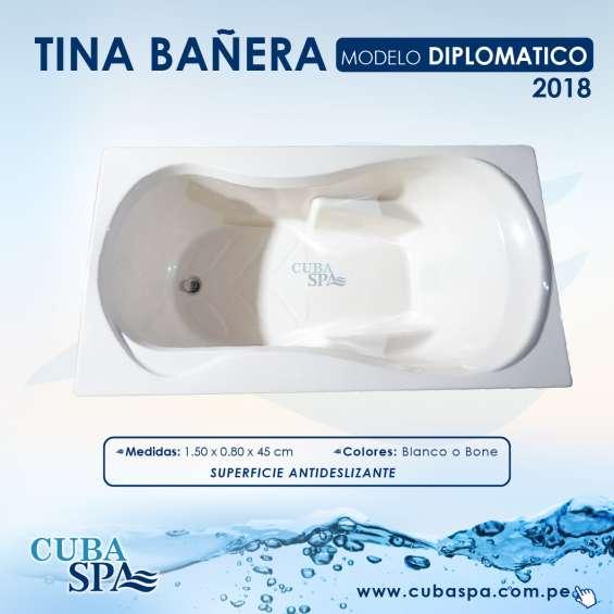 Tina bañera modelo diplomatico