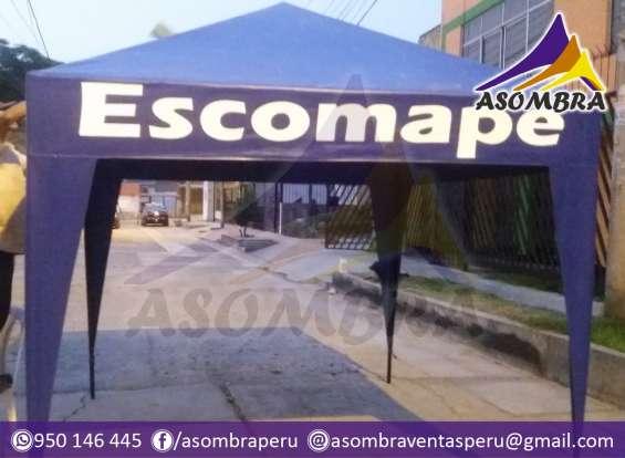 Fotos de Toldos modelos piramidal económicos / asombra perú 2