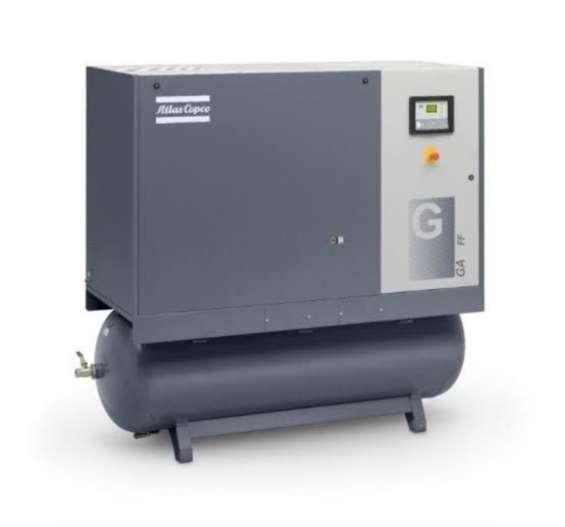 Compresor electrogeno atlas copco