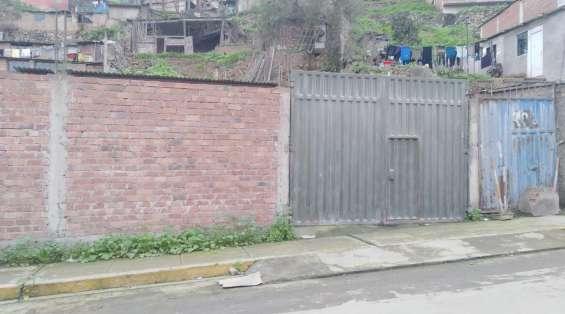 Se vende terreno en villa maria del triunfo 280 m2