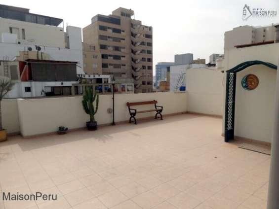 Fotos de Duplex  amoblado 185 m2 terraza miraflores (861-t-m 16