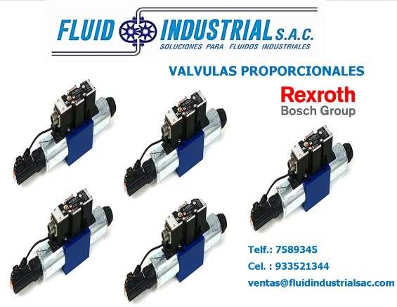 Electro valvulas rexroth