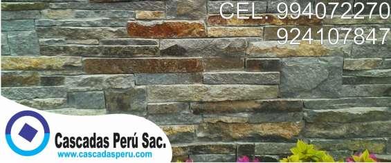 Fotos de Piedra laja, panel de fachaletas, fachaletas 2