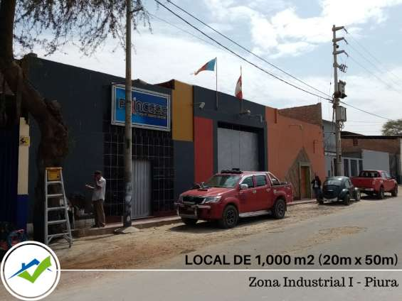 Venta local zona industrial piura