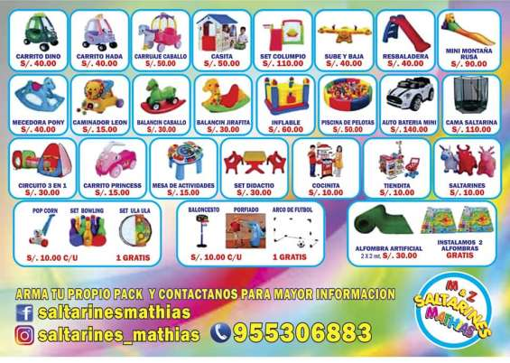 Fotos de Alquiler de juegos infantiles e inflables 3