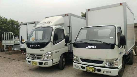 Fabricación de carrocerias para camiones y mantenimiento en general- gran oferta