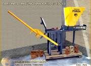 Maquinas para fabricar ladrillos ecológicos