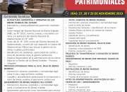 CURSO GESTION DE BIENES PATRIMONIALES