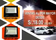 Reflector led ip65 exterior alto brillo calidad a1 18.00