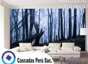 Laminas vinilos 3d, mural decorativo 3d, fondo vinilo 3d