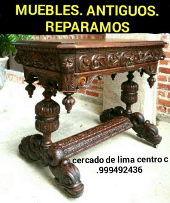 Arte y estilo colonial reparacion de muebles antiguos lima perú sudamerica