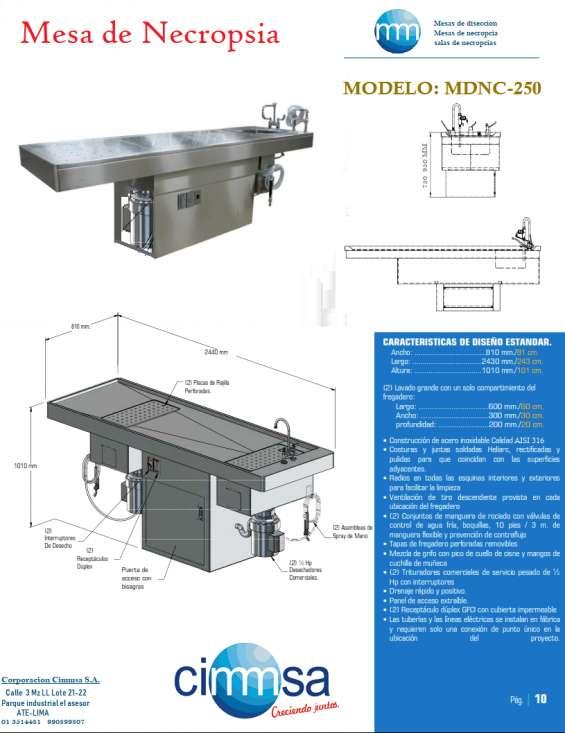 Mesa de necropsia- autopsia 990899807 964125646