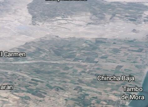 Terreno agrícola chincha