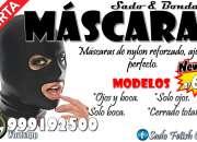 Mascaras sado fetiche / bondage / sexshop miraflores