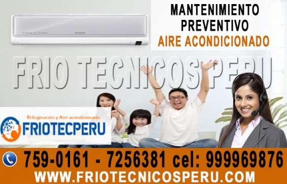 Completo! mantenimiento preventivo aire acondicionado –san isidro