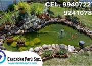 Estanques artificiales de jardin, fuentes de agua de jardin