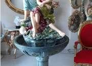 Fuentes en jardines, imagenes de fuentes en jardines, piletas de agua,