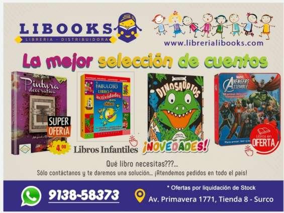 Librería libooks – venta de libros en surco