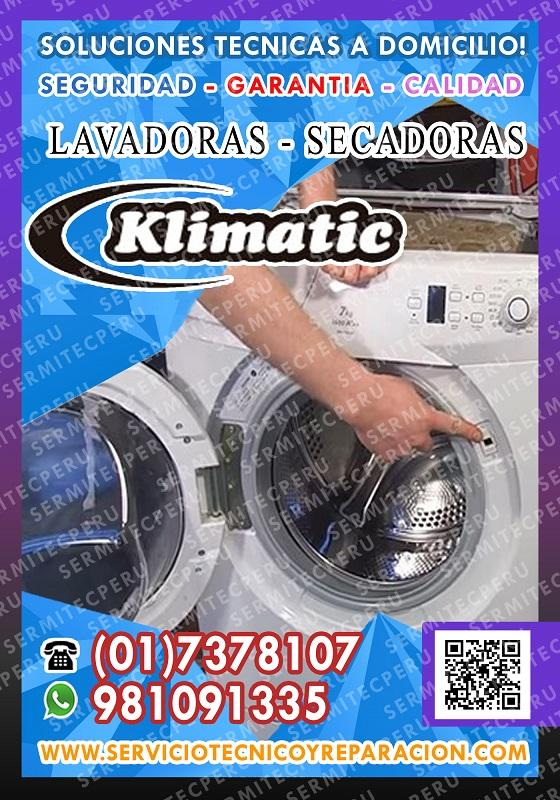 Los olivos – tecnicos de lavadoras klimatic a domicilio 7378107