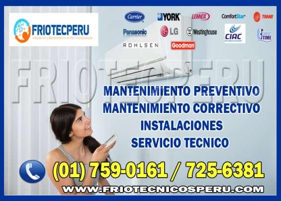 Mantenimientos preventivos de aire acondicionado 7590161 miraflores