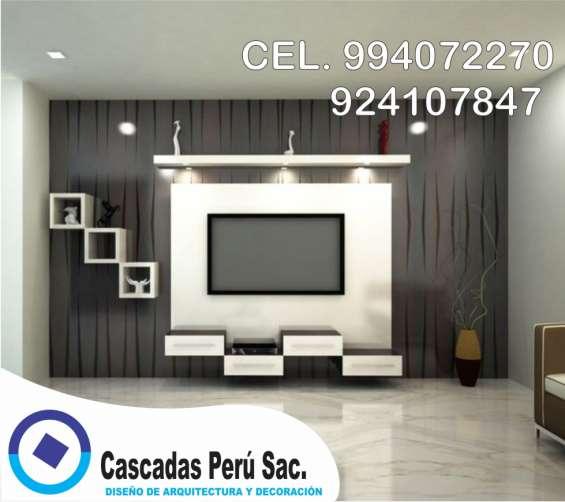 Fotos de Muebles de tv minimalista, muebles de tv interior 6