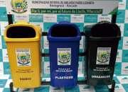 Puntos ecológicos para segregación de residuos