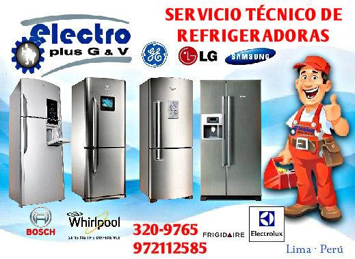 Servicio expandido, servicio tecnico de refrigeradoras samsung, 972112588