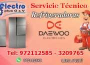 Servicio renovado, servicio tecnico de refrigeradoras daewoo, 972112585