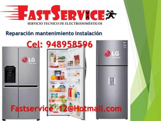 Servicio técnico refrigeradores, reparación lg 921080122