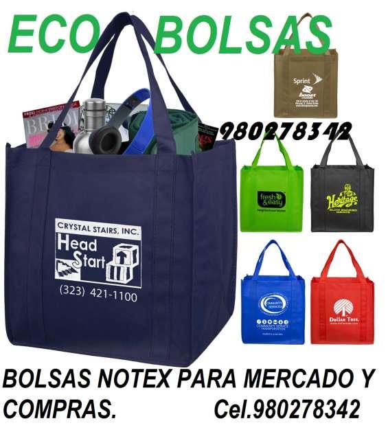 Bolsa notex publicitaria, bolsa ecológica