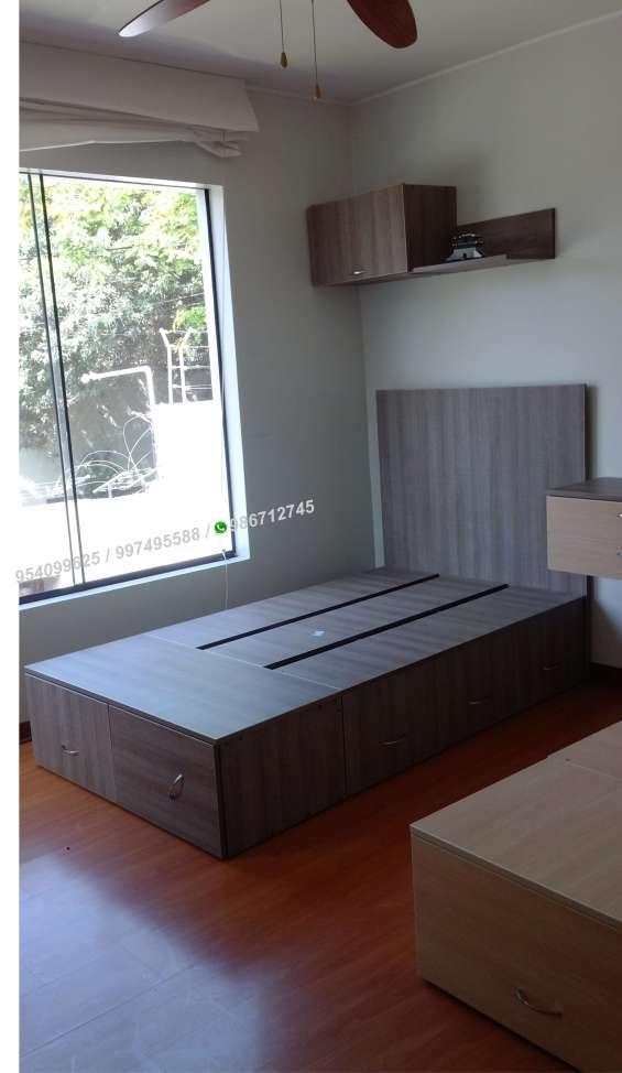 Reparación y fabricación muebles de melamine para el hogar