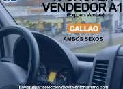 20 CHOFER VENDOR (CALLAO) 949778125 / 933603217