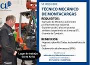 10 TÉCNICO MECÁNICO MONTACARGA SANTA ANITA 977522812 / 961866531