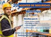20 AGENTES DE SEGURIDAD ATE 933603217 / 977522812