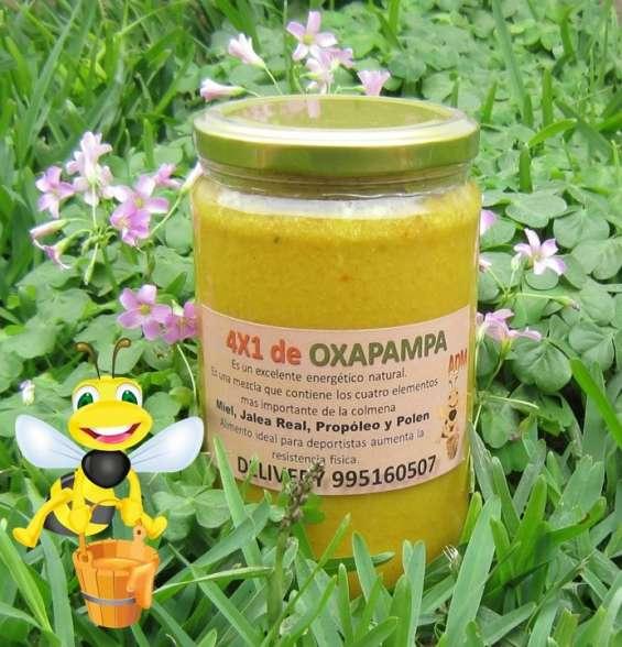 4x1 jalea real, polen, miel y propoleo oxapampa