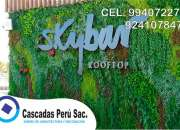 jardin artificial decorativo, jardin artificial moderno